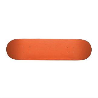Orange Pop-Bright Orange-Uptown Girl-Designer Skate Boards