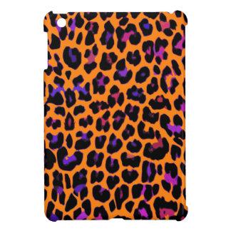 Orange Pop Leopard iPad Mini Cases