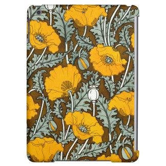 Orange Poppy Case iPad Air Covers