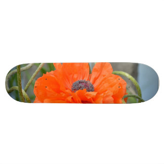 Orange Poppy Skate Decks