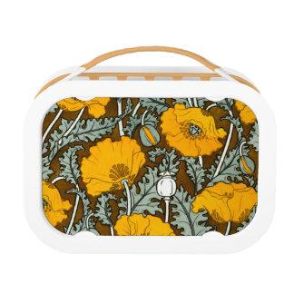 Orange Poppy Yubo Lunchbox