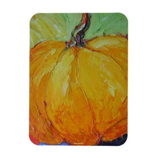 Orange Pumpkin Magnet