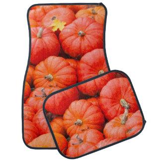 Orange pumpkins at market, Germany Car Mat