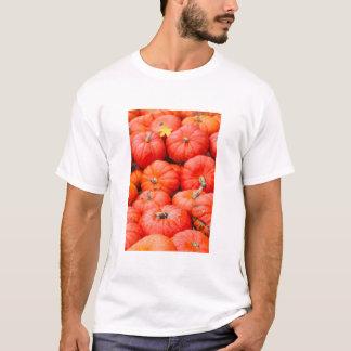Orange pumpkins at market, Germany T-Shirt