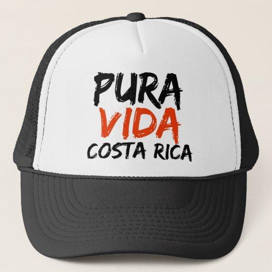 Orange Pura Vida Costa Rica Trucker Hat  0e0a8339c4f