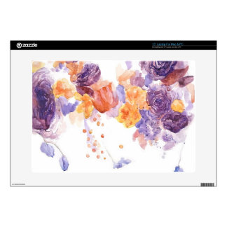 "Orange Purple Dance Skin Skins For 15"" Laptops"