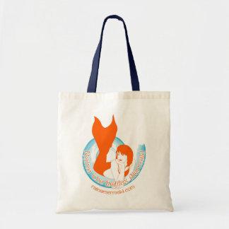 Orange Raina Logo Tote Budget Tote Bag