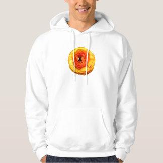 Orange Ranunculus Hoodie