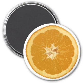 orange. realistic. magnet