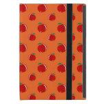Orange red apple pattern covers for iPad mini