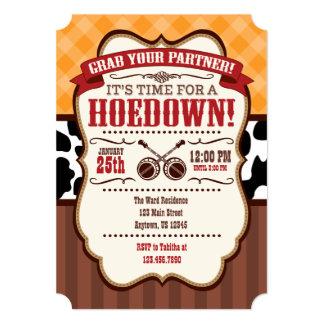 orange_red_brown_hoedown_party_invitation r44666fbf1cf34d1e8bc051b68445104c_zk9l8_324?rlvnet=1 hoedown invitations & announcements zazzle,Hoedown Party Invitations