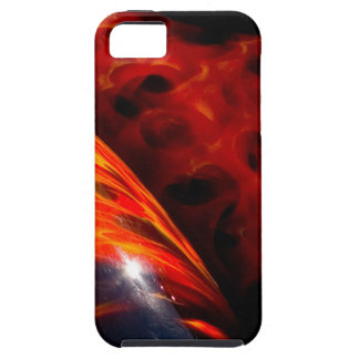 Orange Red Flames Paint Classic Car Bumper iPhone 5 Covers