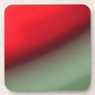 Orange Red Green Drink Coaster