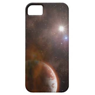 Orange-Red Planetary Phone Cover