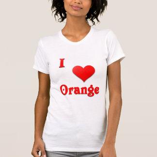 Orange -- Red Shirt