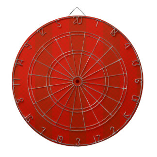 Orange Red Stripes Dartboard With Darts