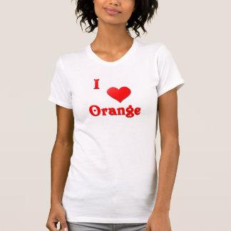 Orange -- Red T-shirt