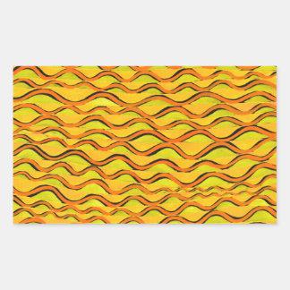 orange redlines that can't sees crossed rectangular sticker