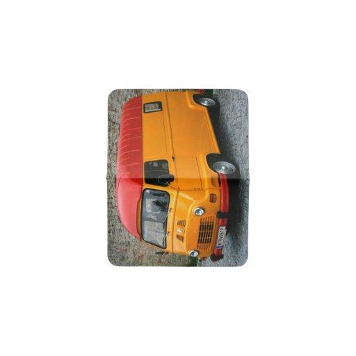 Orange renault estafette business card holder zazzle for Orange business card holder