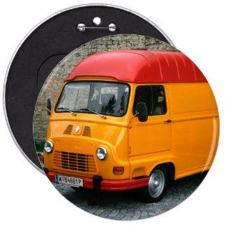 Orange Renault Estafette Button