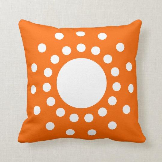 Orange Retro American MoJo Pillows