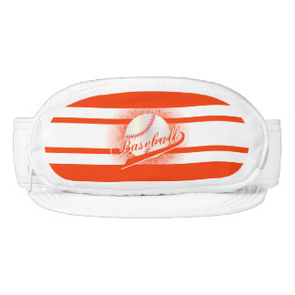 Orange Retro Baseball Style Visor