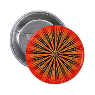 Orange Retro Disk Button