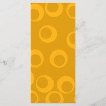 Orange retro pattern.