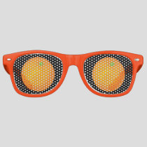 Orange Retro Sunglasses