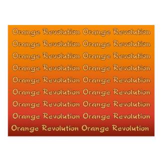 Orange Revolution Postcard