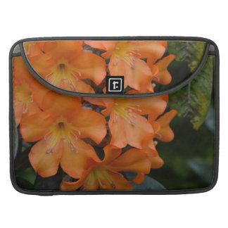 Orange Rhododendron MacBook Pro Sleeve
