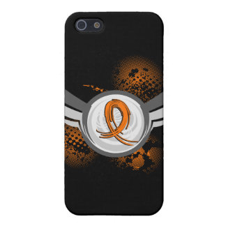 Orange Ribbon And Wings MS Case For iPhone 5