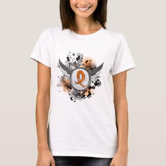 Orange Ribbon And Wings MS T-Shirt