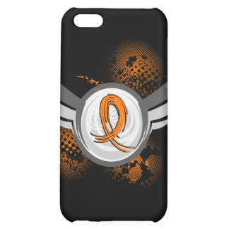 Orange Ribbon And Wings Multiple Sclerosis iPhone 5C Cover