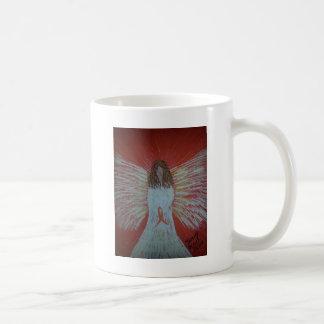 Orange Ribbon Angel.jpg Coffee Mug