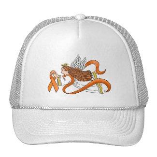 """Orange Ribbon"" Awareness Angel Trucker Hat"