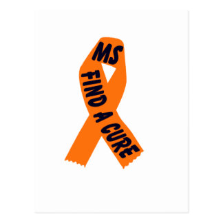 Orange Ribbon Awareness Postcard