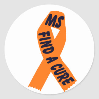 Orange Ribbon Awareness, Sticker