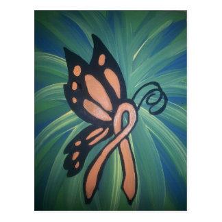 Orange Ribbon Butterfly.jpg Postcard