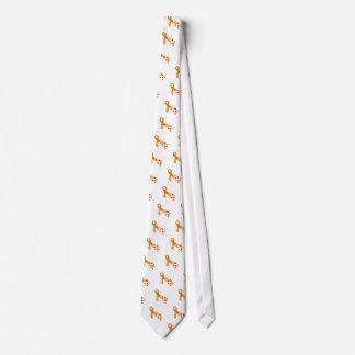 Orange Ribbon for Multiple Sclerosis Neck Tie