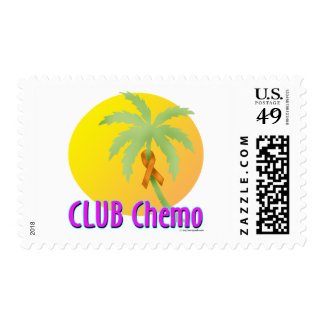 Orange Ribbon Stamp