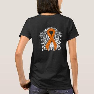 Orange Ribbon with Wings T-Shirt