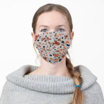 Orange Ribbons Multi...MS Adult Cloth Face Mask