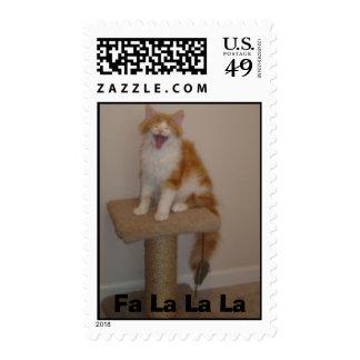 Orange Riley, Fa La La La Stamp