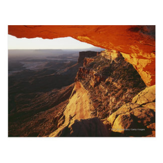 Orange Rock Overhand & Rocky Canyon Post Card