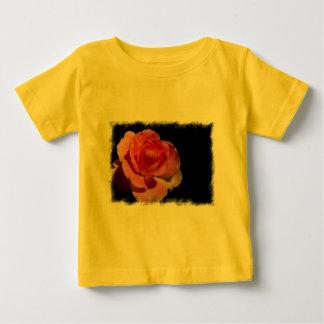 Orange Rose 2 Baby T-Shirt