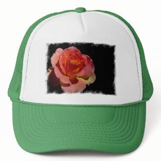 Orange Rose 2 zazzle_hat