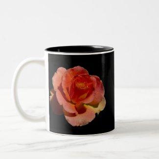 Orange Rose 2 zazzle_mug