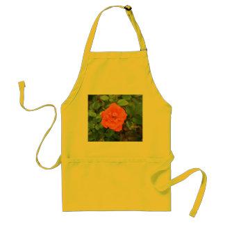 Orange Rose Apron