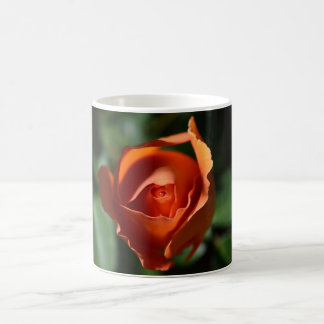Orange Rose Blossom Coffee Cup